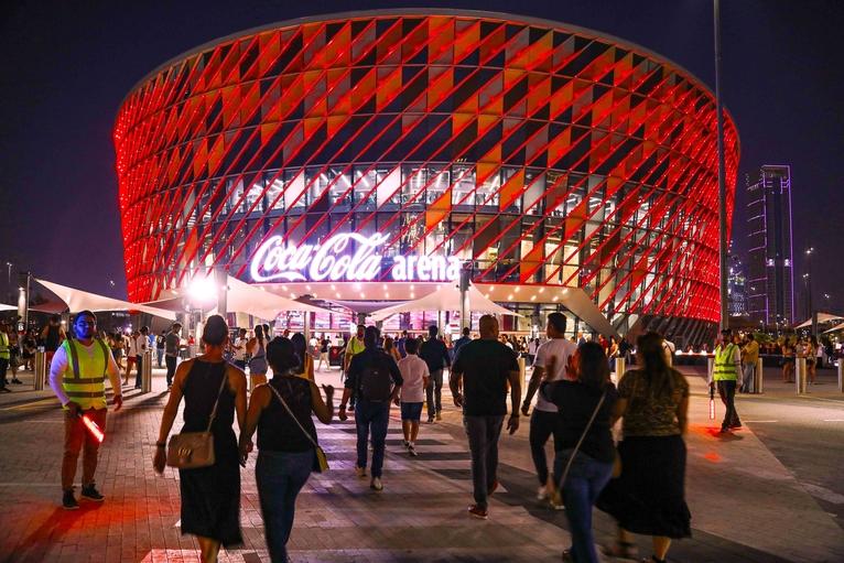 Maroon 5 at the Coca-Cola Arena